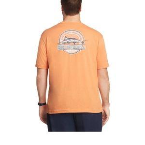 Izod Big and Tall T-shirt Marina Fish